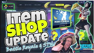 💥MenamesCho's LIVE 🔵 ITEM SHOP UPDATE 🤓 COUNTDOWN 🕐 Custom Fortnite Battle Royale 21st July 2019