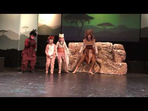 The Lion King Jr. Timon Hula Song (Full)