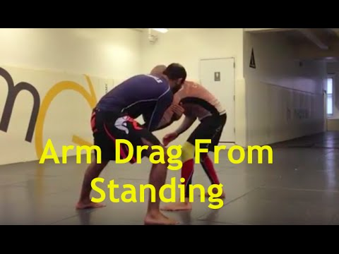 Arm Drag Trap From Standing  by Bernardo Faria