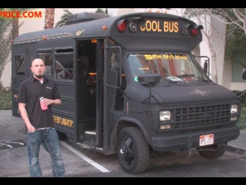 872a4f594af THE COOL BUS - ULTIMATE SHORT BUS PARTY ON WHEELS! - YouTube