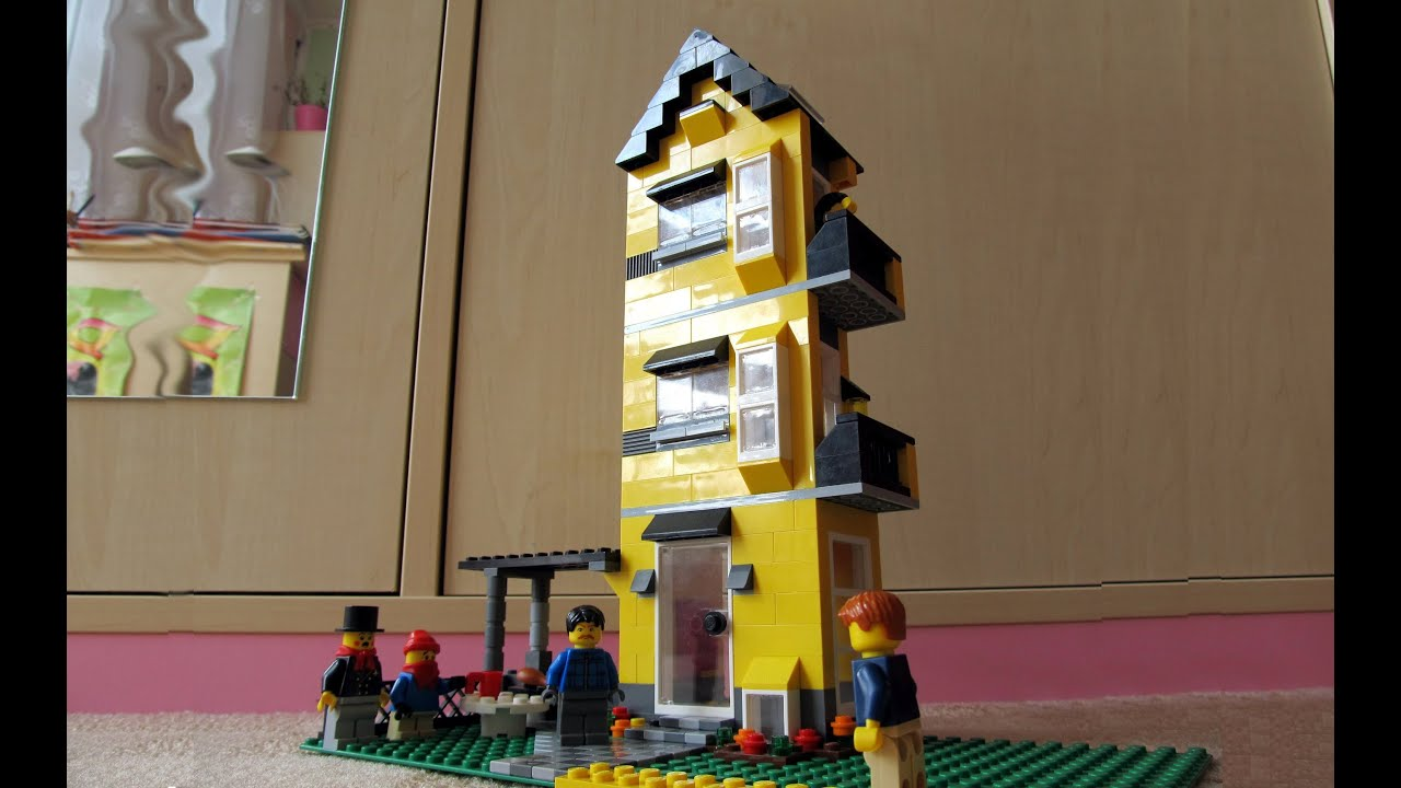 Lego Creator 4996 Apartment Building Review Panel K
