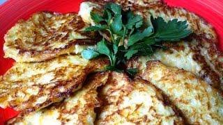 Оладьи кабачково-картофельные