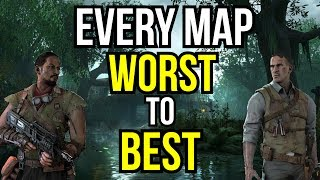 EVERY ZOMBIES MAP RANKED WORST TO BEST