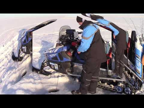 Fort Peck March Madness Lake Trout on Ice