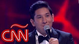Leo Rosas, de Bolivia a triunfar en La Voz México