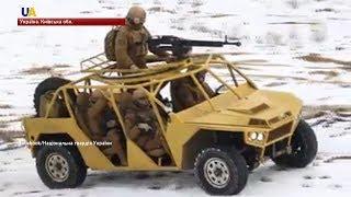 Військовий автомобіль-баггі випробували нацгвардійці на полігоні під Києвом