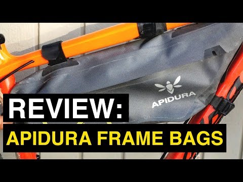 Review: Apidura Frame Bags (Backcountry vs. Expedition for Bikepacking and Gravel Rides)