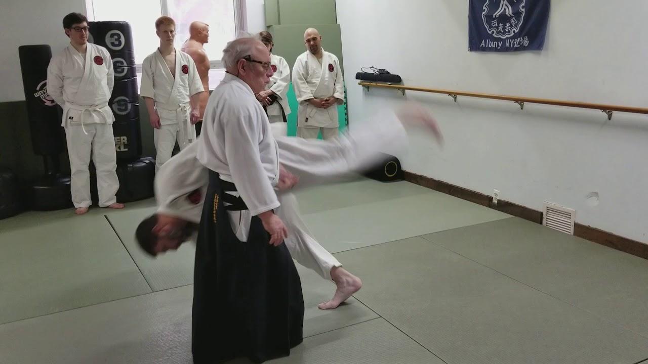 Daito Ryu Aiki Jujutsu gyaku uchite aiki nage