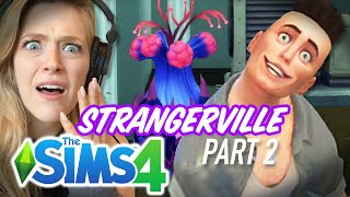 Single Girl's Son Is Possessed in The Sims 4 Strangerville - Part 2