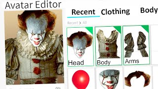 MAKING PENNYWISE A ROBLOX ACCOUNT!! (IT CLOWN)