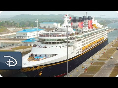 Disney Wonder Becomes First Passenger Vessel to Transit New Panama Canal Locks