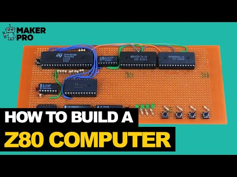 Build a Z80 Computer, Part 4: IO & Coding Your First Program