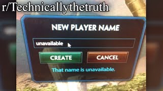 r/Technicallythetruth | that name is unavailable.