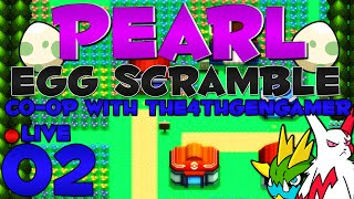 Pokémon Pearl Egg Scramble Co-Op LIVE w/ @The4thGenGamer - Episode 2 ~ Bros Before Hoes