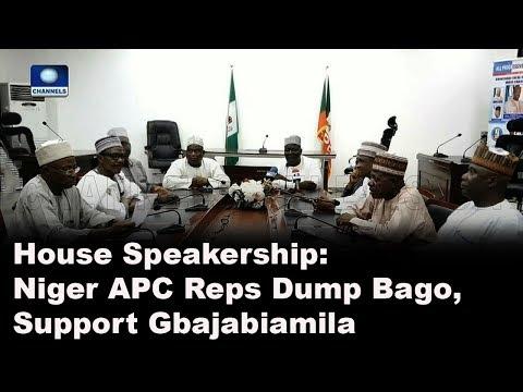 House Speakership: Niger APC Reps Dump Bago, Support Gbajabiamila  Politics Today 