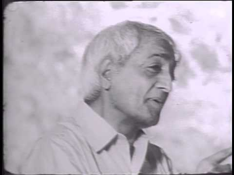 Jiddu Krishnamurti - Freedom from fear (1966)