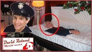 "Seinfeld ""Elliot Novak"" Charles Levin Funeral - Open Casket - Seinfeld Actor DEAD"
