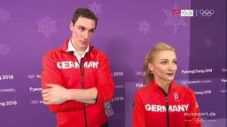 Interview Savchenko Massot Olympia 2018 - 14.02.2018