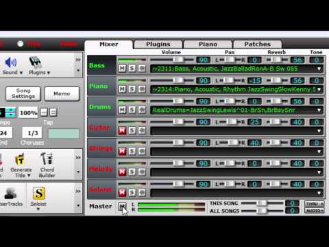 Save Your Song as a Video with Band-in-a-Box 2015 for Windows!