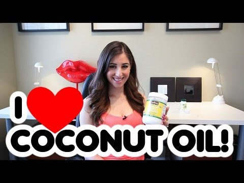 Beauty Uses: Coconut Oil for Hair and Skin