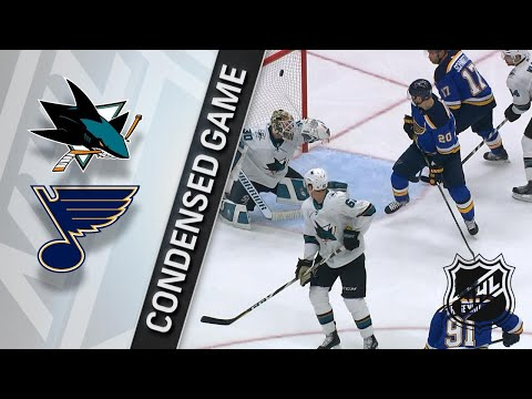 03/27/18 Condensed Game: Sharks @ Blues
