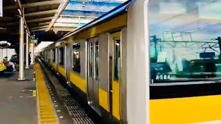 JAPAN TRAIN RIDE   MAKUHARI STATION TO CHIBA STATION   幕張駅〜千葉駅
