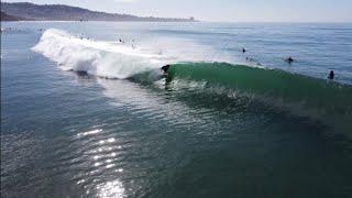 Blacks Beach Surf Spitting Barrels January 10, 2021