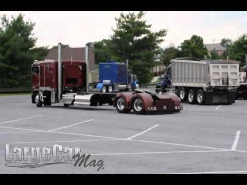 long wheelbase Kenworth K100