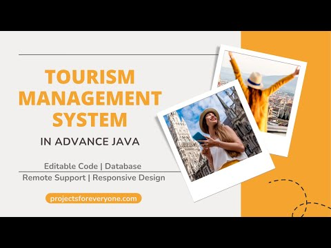 Tourism / Travel Agency Project in Advance Java (J2EE, JSP, MySQL) image
