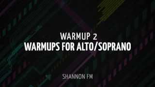 Vocal Warmup 2 for Alto/Soprano