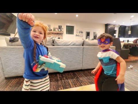 Superhero Kids Vs Super Dad