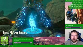 Pseudo Nerd Stream - Legend of Zelda: Breath of the Wild Part 16