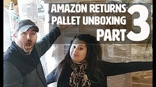 Part 3: We paid $8500 for a Truckload of Amazon Return Pallets