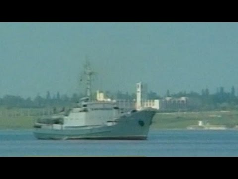 Russian warship collides with Togo-flagged freighter in the Black Sea