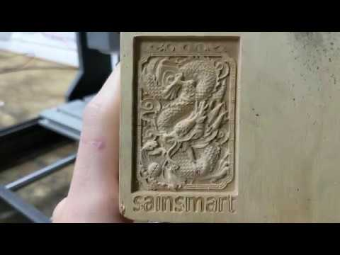 How to do Your First Engraving with the Sainsmart Genmitsu 3018 pro CNC and all Other Sainsmart CNCs