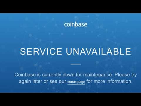 Coinbase Always Conveniently Down When It Is Time To Buy!