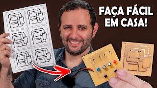 Como fazer uma placa de circuito impresso