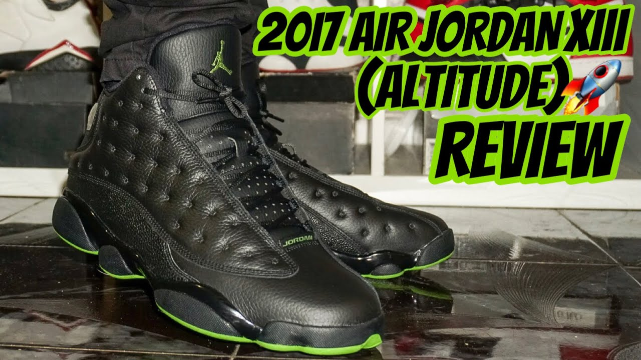 0ed93d5b61da7a 2017 AIR JORDAN XIII ALTITUDE REVIEW - YouTube