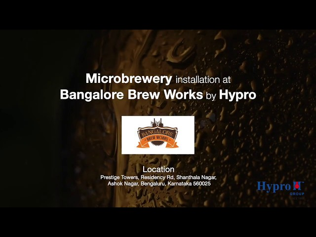 Microbrewery Installation at Bangalore Brew Works, India by Hypro Engineers🍻