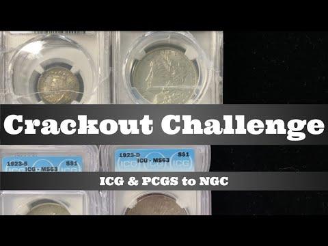 Crackout Challenge - PCGS / ICG To NGC - Isabella Quarter, 1886-O Morgan Dollar, Peace Dollars