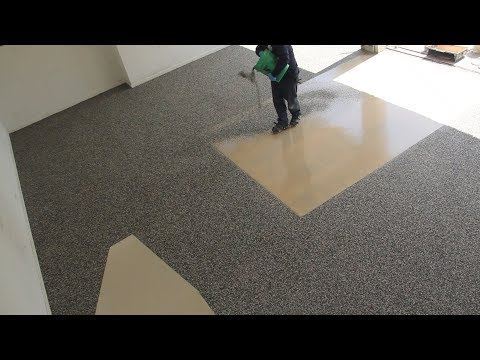 Polyurea Flooring Installation by Sears Garage Solutions