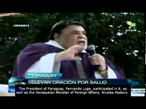 Mass held for Chavez's health in Paraguay