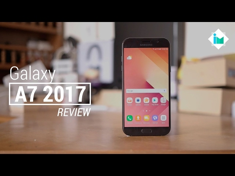 Samsung Galaxy A7 2017 - Review en español