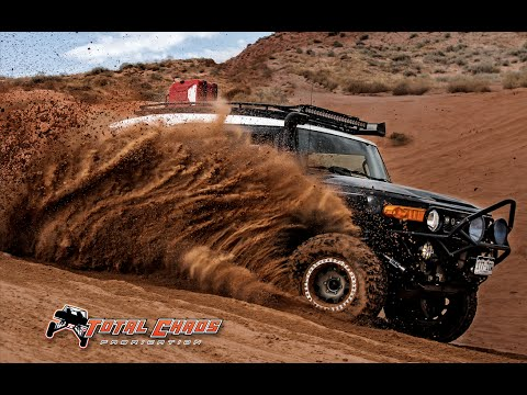 Total Chaos FJ Cruiser Long Travel Suspension Lift Kit in Moab Utah and Ouray Colorado
