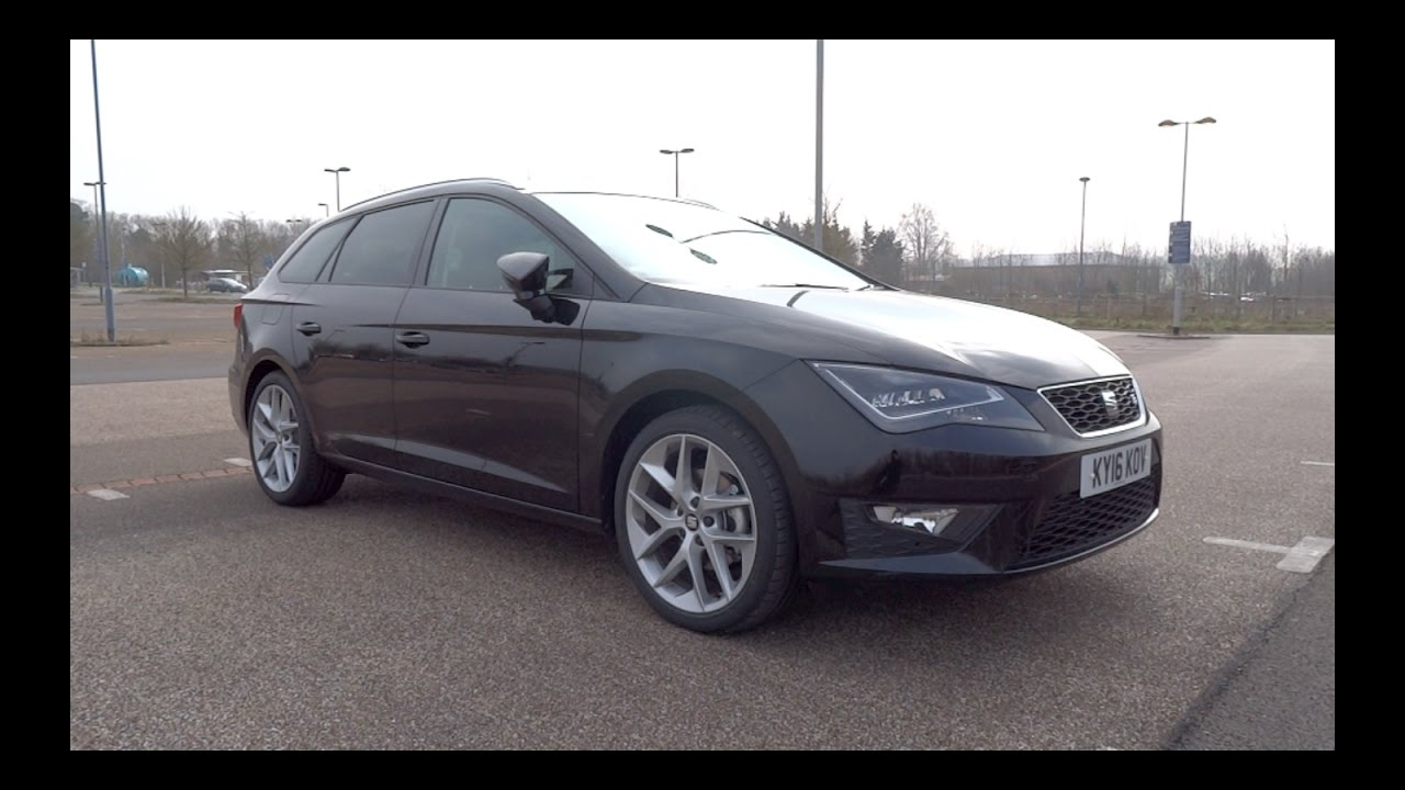 2016 seat leon st 1 4 ecotsi 150 fr start up and full. Black Bedroom Furniture Sets. Home Design Ideas