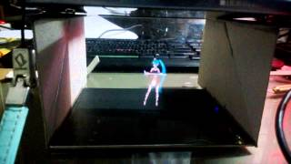 DIY miku hologram Illusion with ps vita