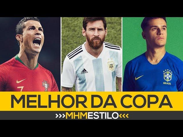 058cdb8b8b Camisas da Copa do Mundo 2018 - Uniformes das seleções para a Copa da  Rússia