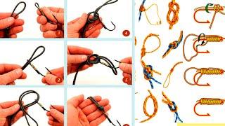 Рыболовные узлы на все случаи жизни Поплавок, спиннинг,донка.