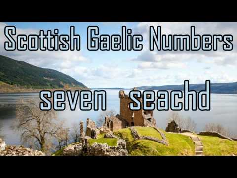 Scottish Gaelic Counting | Numbers 1-10 | Gàidhlig