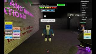 Roblox Slenderman's Revenge REBORN/How to be Papyrus and Sans/2 Codes.